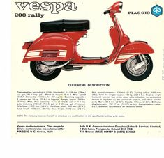 Modern Vespa : New addition - 1974 Rally 200