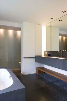 leem-wonen-moderne-villa-remy-meijers-badkamer | Badkamer | Pinterest