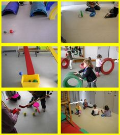 Faire_Rouler Gross Motor Activities, Gross Motor Skills, Sports Activities, Group Activities, Pe Lessons, Preschool Lessons, Charles Meme, Movement Preschool, Mini Gym