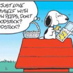 Peeps or Woodstock?