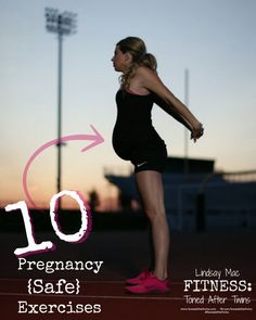 10 Pregnancy Safe Exercises- Upper Body: Modified Push Ups- Start on all fours in the tabletop position. Isolate and lower only your upper body. This is a great way to maintain some upper body strength even as your b… Prenatal Workout, Pregnancy Workout, Pregnancy Fitness, Mommy Workout, Workout Fitness, Pregnancy Health, Post Pregnancy, Pregnancy Nutrition, Pregnancy Fashion