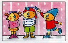 Plaatje Pompom School, Kids, Character, Pom Poms, Pictogram, Children, Boys, Children's Comics, Boy Babies