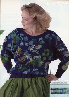 Magazine Mode, Fair Isle Knitting, Cool Sweaters, Knitting Patterns Free, Free Pattern, Fashion History, Pulls, Knitting Projects, Christmas Sweaters