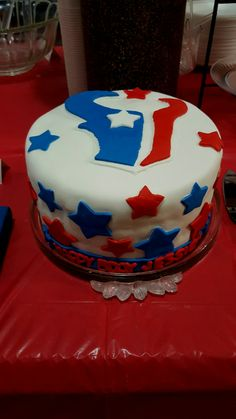 Texans Party  Theme Cake profullserve.com