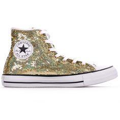 Converse Chuck Taylor All Star Holiday Party Gold Textile 35 EU XelPOj
