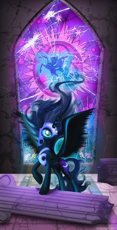 Nightmare Moon: Just Glass!