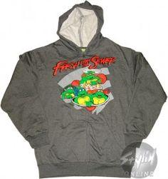 Ninja Turtles 'Fresh from the Sewer' Zip Hoodie #TMNT