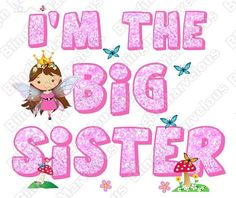 FAIRY BIG SISTER MIDDLE SISTER LITTLE SISTER IRON ON T SHIRT TRANSFER in Clothes, Shoes & Accessories, Kids' Clothes, Shoes & Accs., Girls' Clothing (2-16 Years) | eBay!