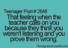 take that teacher!