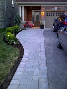 photo of Backyard Patio and Driveway Extension from a Mega Interlocking & Custom Designes review