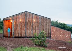 New York architect Sharon Davis has completed a new housing complex for doctors and nurses in a village in rural Rwanda