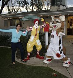 Scarlett Sabin, House Manager, Ronald and the Bakersfield Jam Mascot