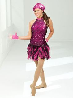 Let's Get Loud - Style 0229 | Revolution Dancewear Jazz/Tap Dance Recital Costume