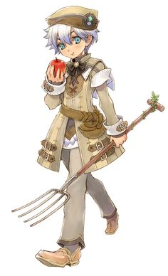 Aden from Rune Factory: Tides of Destiny