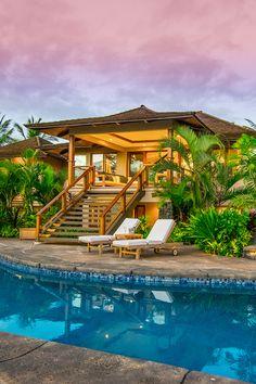 Luxury Hawaiian villa. For more amazing homes follow us on homeadverts.tumblr.com