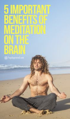 Meditation is a practice that brings a wide range of health benefits. Discover the benefits of meditation on your brain and how it can improve your life. Meditation For Health, Easy Meditation, Meditation Benefits, Meditation For Beginners, Meditation Techniques, Transcendental Meditation Technique, How To Start Meditating, Yoga For Balance, Bikram Yoga