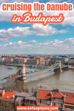 One of Budapest's greatest and most well-known landmarks is the river The Danube. In this article I'll tell you why cruising down the Danube shouldn't be left out on your Budapest citytrip.