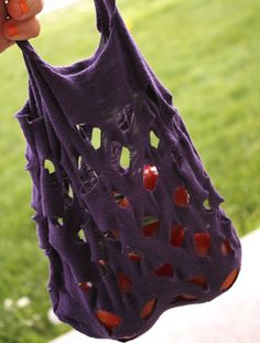 DIY: 10 Things To Do With an Old T-shirt | EcoSalon | Conscious Culture and Fashion