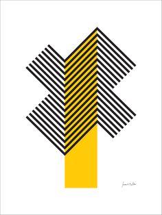 Resultado de imagem para geometrico amarelo