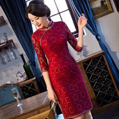 qipao bamboo print dress            https://www.ichinesedress.com/