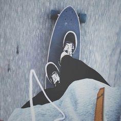 #Vans #Skateboard