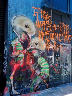 HERAKUT NYC by billy craven, via Flickr