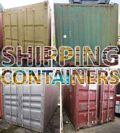 Shipping containers, forklifts, trucks, trailers and more surplus stock‼️ Ending MONDAY at pm - make your bid online NOW Shipping Containers, Civilization, Trailers, Auction, Neon Signs, Trucks, Pendant, Truck, Cars