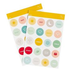 Picture of Vellum Weather Sticker Set by Hello Forever