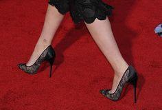 Scarlett Johansson in Christian Louboutin Pigalace Pumps
