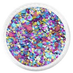 Kaleidoscope Custom Mixed Glitter – Solvent Resistant Glitter from Glitties Nail Art Online Store Glitter Rocks, Glitter Vinyl, Purple Glitter, Glitter Nails, My Nails, Fashion Face, Pink Fashion, Arts And Crafts Projects, Diy Projects
