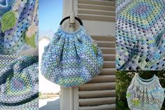 Granny bag / sac boule by Mam'zelle Flo, via Flickr