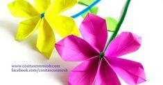 Hacer estas flores es facilísimo y quedarán genial en cualquier rincón de la casa.