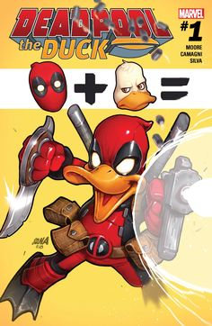 Deadpool The Duck (2017) #1 (of 5) #Marvel @marvel @marvelofficial #DeadpoolTheDuck (Cover Artist: David Nakayama) Release Date: 1/4/2017