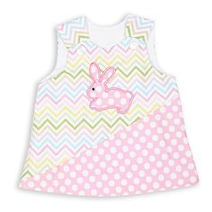 Swoon! Love this Girls Spring Chevron Pink Dot Aline Dress I discovered at lollywollydoodle.com and for only $32! Click the image above to get a $5 off coupon code for your next order!