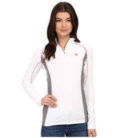ARIAT Triumph Factor 1/4 Zip. #ariat #cloth #shirts & tops