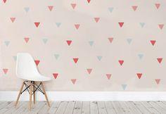 Wallpaper deocrazione a trinagoli. Art Deco Wallpaper, Walls, Home Decor, Wallpapers, Google Search, Top, Decoration Home, Room Decor, Wallpaper