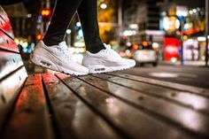 A pair of shiny white Air Max 90s with dreamy city bokeh .. Queen Street Auckland .. D810 35mm DX f1.8 Image by Nikon NZ Featured Photographer @si_williams_ #IamNewZealand #NikonNZ #Nikon #Nikkor #NZ #NewZealand #Aotearoa #bokeh #street #city #airmax #sneakerhead #TravelingourPlanet #Discover_NewZealand #EarthFever #WorldCaptures #TravelPhotooftheDay #Wow_Planet #BeautifulDestinations #BestNewZealand #KiwiPhotos #NewZealandVacations #OurPlanetDaily #EarthExperience #StarttheAdventure #Kiwi…