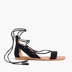 The Bridget Lace-Up Sandal