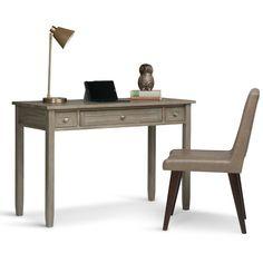 Warm Shaker Writing Desk