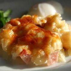 Cheesy Ham and Hash Brown Casserole Allrecipes.com