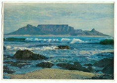 Cape Town South Africa, Table Mountain, Places To Go, Ocean, Explore, Art Prints, History, Landscapes, Traveling