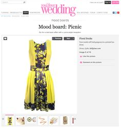 You & Your Wedding Magazine - Blossoms that Dance Dress