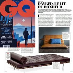 Interview with designer Mads Thornam - the creator of THE M - in GQ France. www.bythornam.com/daybed-le-lit-du-bonheur/ #them #bythornam #gqfrance #daybed #couch #headboard #madeindenmark #design #interiordesign #shapeityourway #madsthornam