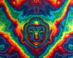 Mandala Tapestry by BarefootLazerTieDye on Etsy