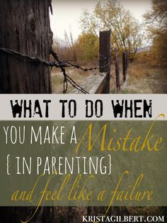 Mistakes in parentin