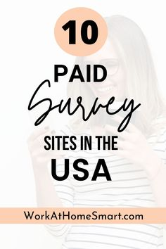 Looking for the best paid surveys in the United States? Check out these 10 paid online surveys that actually pay in the USA. Best Paid Online Surveys, Surveys That Pay Cash, Paid Surveys, Online Jobs, Survey Sites That Pay, Phone Interviews, People In The Us, Making Extra Cash, Extra Money