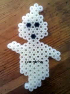 Halloween ghost hama perler by deco.kdo.nat