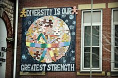 I choose this picture because diversity is our greatest strength. The more diverse people the more success. We should respect diversity to become a good global citizen.
