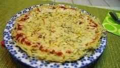 بيتزا البطاطاس - .