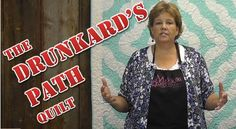 Video Tutorials Light the Pathway for making the Curves on Drunkard's Path Quilt Blocks